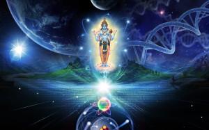 Сверхдуша пребывает в каждом атоме творения