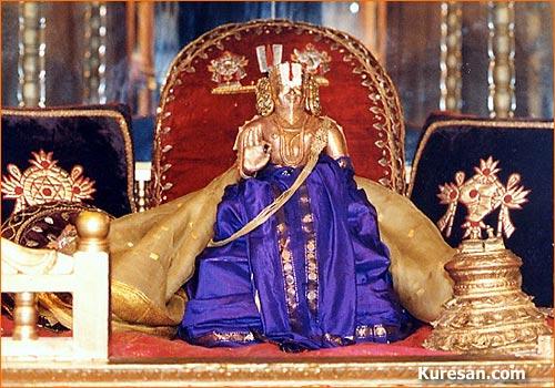 Куреша, ученик Шри Рамануджа ачарьи
