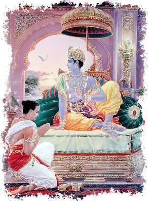 Уддхава отправляется во Вриндаван (часть 1)